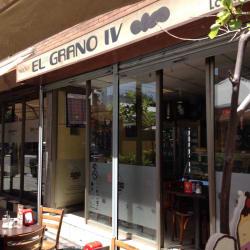 Café El Grano IV en Santiago