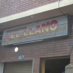 Chorizos El Llano en Bogotá