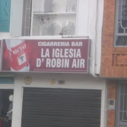 Cigarreria Bar La Iglesia D´Robin Air en Bogotá