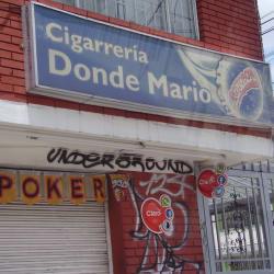Cigarrería Donde Mario  en Bogotá