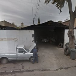 Luis Filgueira, taller mecánico en Santiago