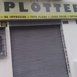 Ala carachas plotter en Bogotá