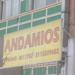Andamios Alaplumez en Bogotá