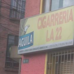 Cigarrería La 22 en Bogotá