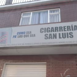 Cigarreria San Luis en Bogotá