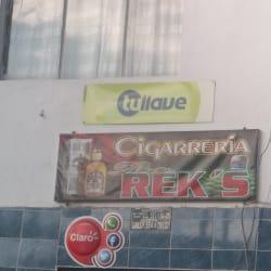 Cigarreria The Rek's  en Bogotá