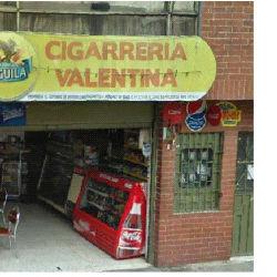 Cigarreria Valentina en Bogotá
