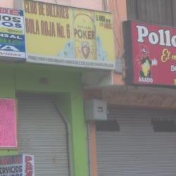 Club De Billares Bola No. 6 en Bogotá