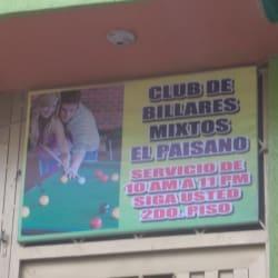 Club de Billares Mixtos El Paisano en Bogotá