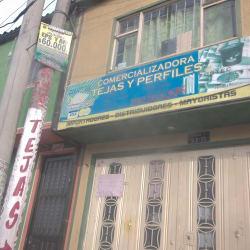 Comercializadora Tejas y Perfiles  en Bogotá