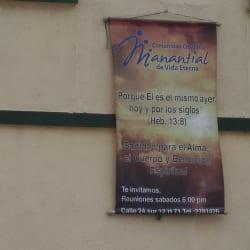 Comunidad Cristiana Manantial de Vida Eterna en Bogotá