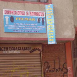 Confecciones y Bordados Felmar en Bogotá