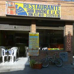 Restaurante Sabor Boyacense De La 162  en Bogotá
