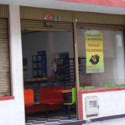 Cafeteria Calle 5 con 23 en Bogotá