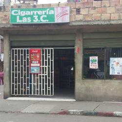 Cigarrería las 3C en Bogotá