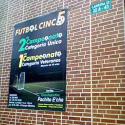 Club deportivo pachito e'che en Bogotá