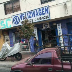 Velizwagen  en Santiago
