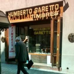Timbres Humberto Garetto en Santiago
