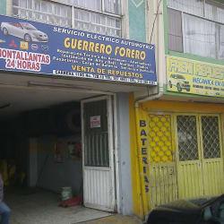 Servicio Eléctrico Aautomotriz Guerrero Forero en Bogotá