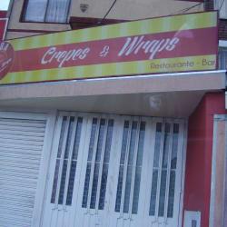 Crepes y Wraps Restaurante  en Bogotá