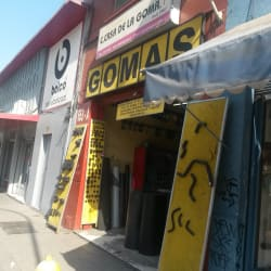 La Casa de la Goma en Santiago