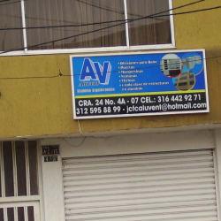 Aluvent  en Bogotá