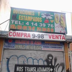 Dotaciones y Estampados OS en Bogotá