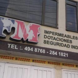 Impermeables y Dotaciones  en Bogotá
