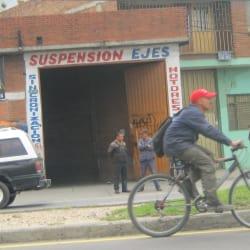 Suspensión en Bogotá
