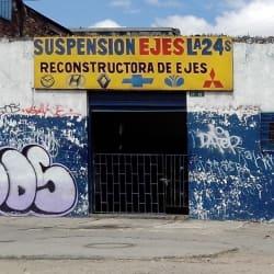 Suspensión Ejes la 24  en Bogotá