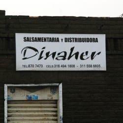 Salsamentaria y distribuidora Dinaher en Bogotá