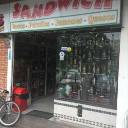 Sandwich  en Bogotá
