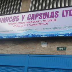 Químicos y Cápsulas Ltda  Calle 13 en Bogotá