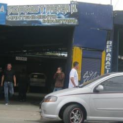 Torno y Prensa H Mantenimiento Industrial en Bogotá