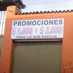 Promociones $1.000 y $2.000 en Bogotá