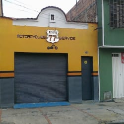 Route 77 en Bogotá