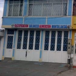Rectificación Balanceo Alineación Montallantas en Bogotá