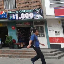Si a como a $ 1000 en Bogotá