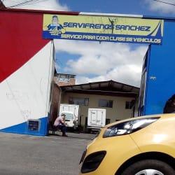 Servifrenos Sanchez en Bogotá