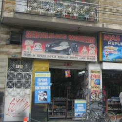 Servilujos Moreno en Bogotá
