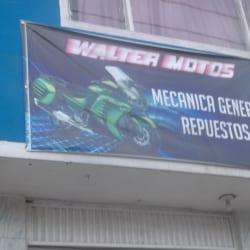 Walter Motos  en Bogotá