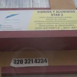 Vidrios y Aluminios Star 2 en Bogotá