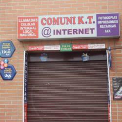 Comuni K. T. @ Internet  en Bogotá