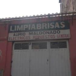 Limpiabrisas Alirio Maldonado en Bogotá