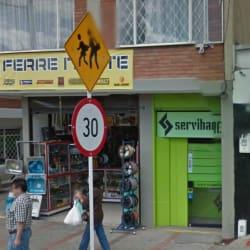 Cajero Servibanca Calle 156 en Bogotá