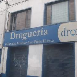Drogueria Cedi Salu Familiar Juan Pablo II en Bogotá