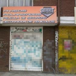 Avisos Polarizados Street Graphic en Bogotá