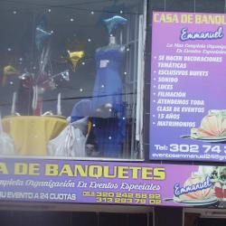Casa de Banquetes Emmanuel en Bogotá