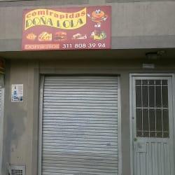 Comidas Rápidas Doña Lola en Bogotá