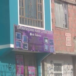 Deckoraciones Kasa Linda 2000 en Bogotá